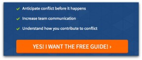 Conflict pdf, how to avoid conflict, conflict guide, personality style guide, free