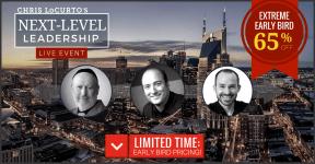 Next Level Leadership Live Event Chris LoCurto